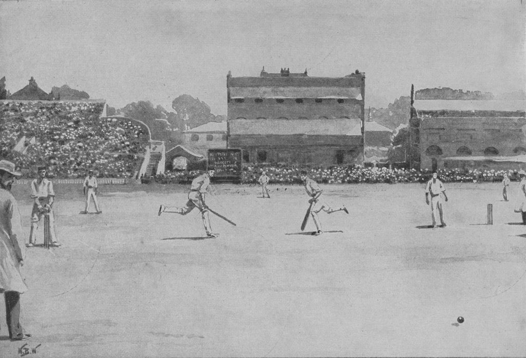 England playing Australia at Lord's in a Test match in 1899 ©Getty Images