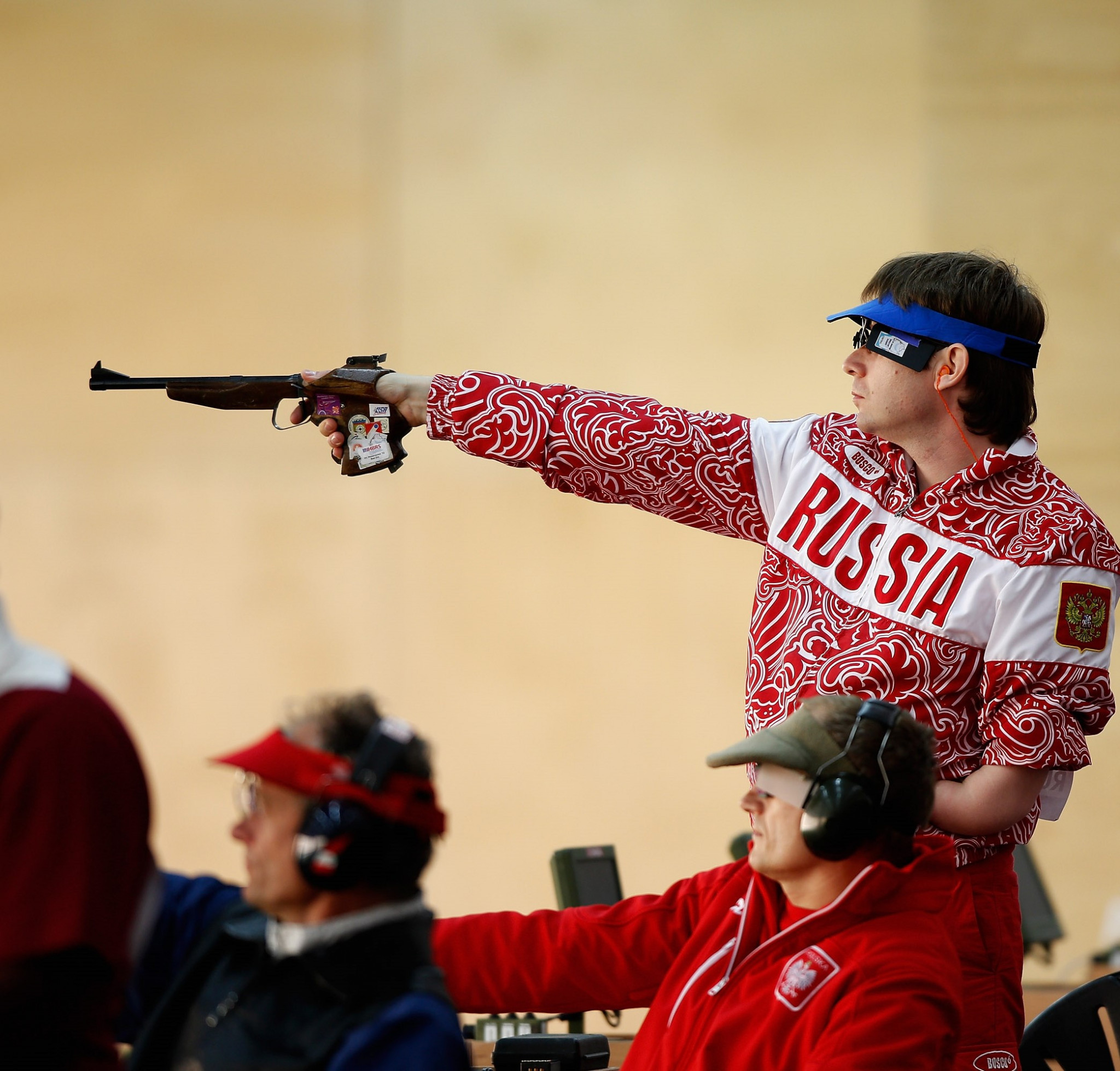 Malyshev earns gold in close final at World Shooting Para Sport World Cup in Lima