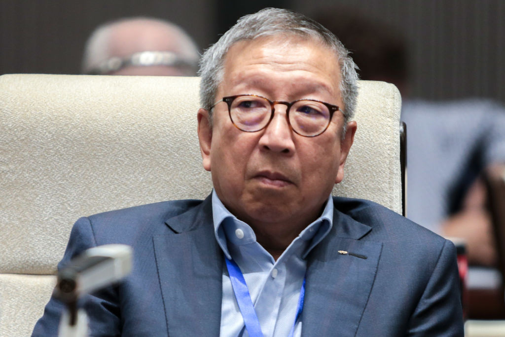 Ng Ser Miang, pictured, and Dieter Neupert's participation in the ethics case contributed to the decision being declared null and void ©Getty Images