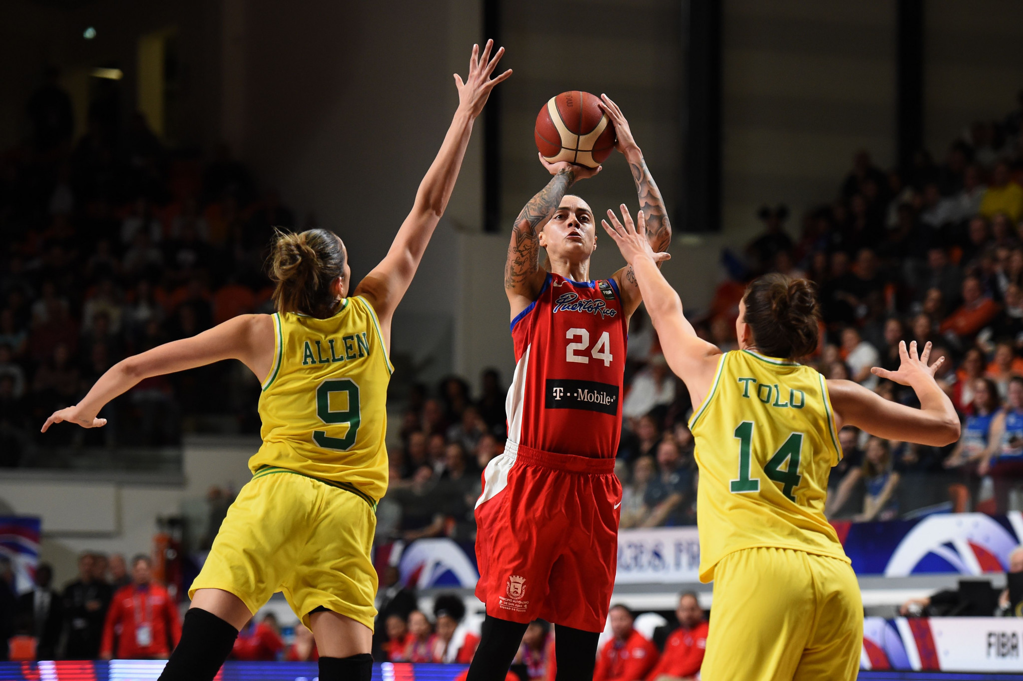 Puerto Rico reach FIBA Women's AmeriCup final for first time as US survive scare