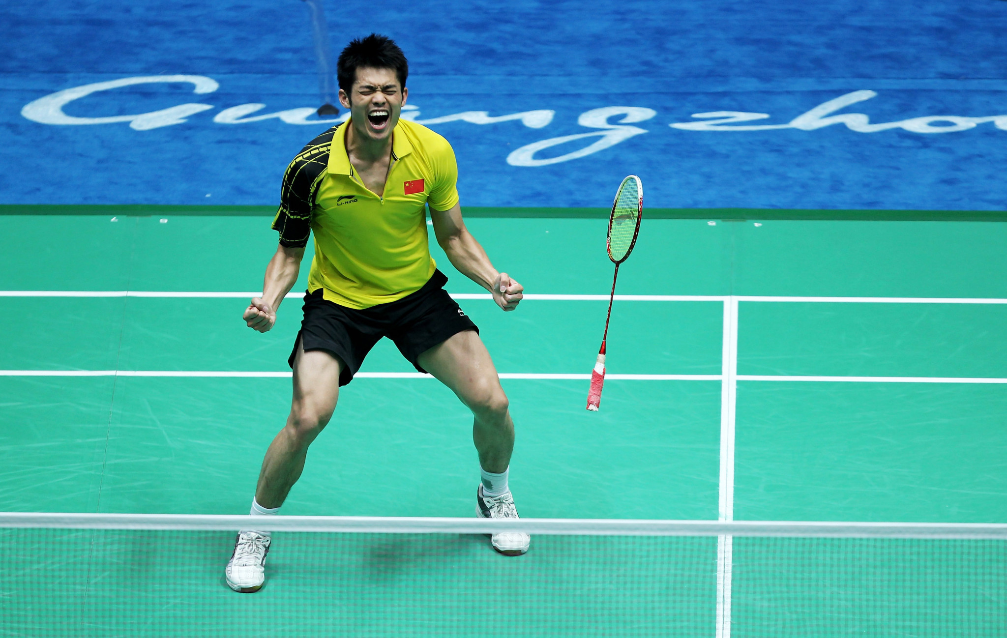 Chinese badminton star Lin Dan was a high-profile retirement before Tokyo 2020 ©Getty Images