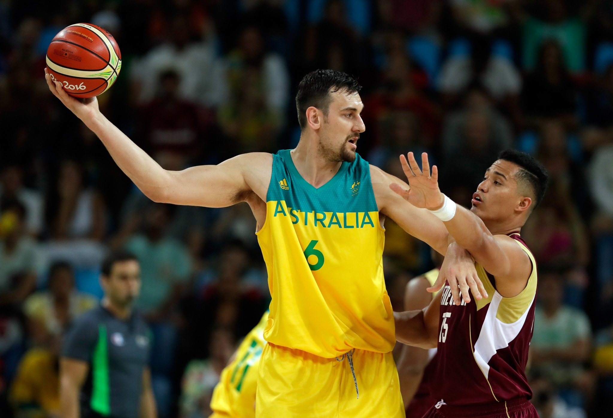 Australian basketball player Andrew Bogut said continuing was