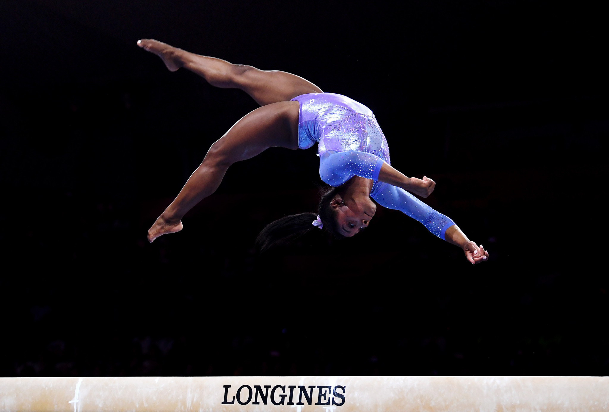 Simone Biles pondered her future amid the COVID-19 pandemic ©Getty Images