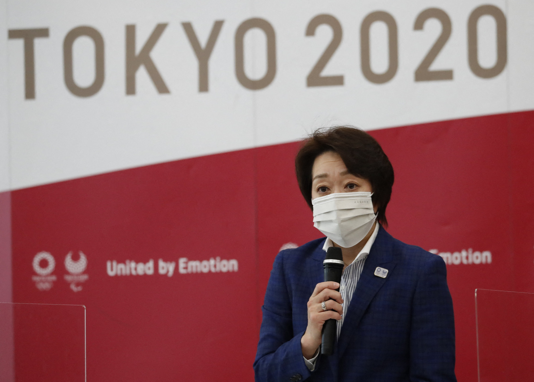 Tokyo 2020 President Seiko Hashimoto defended the inclusion of spectators at the Games ©Getty Images