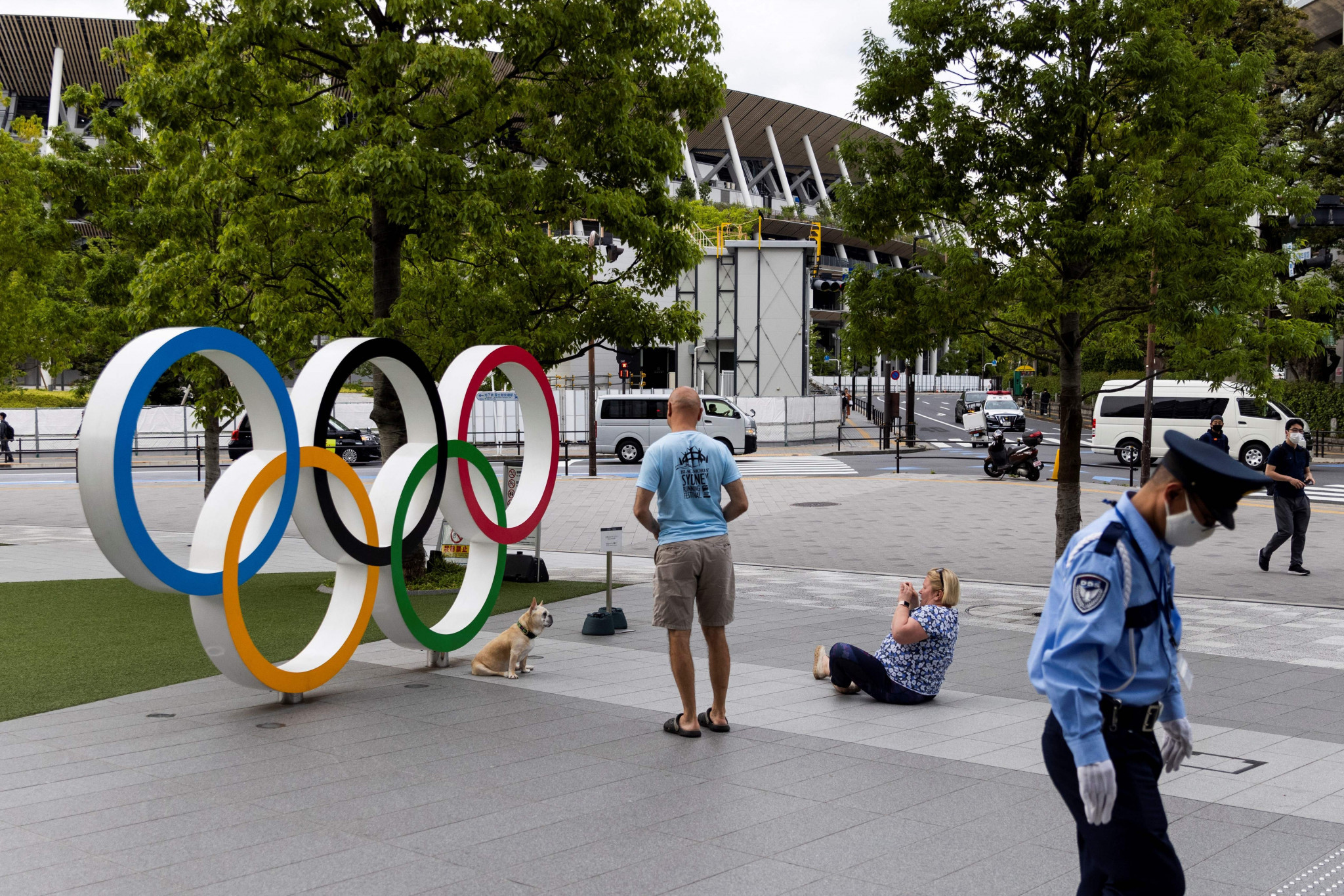Companies in Japan have expressed their concerns over the staging of the Games ©Getty Images