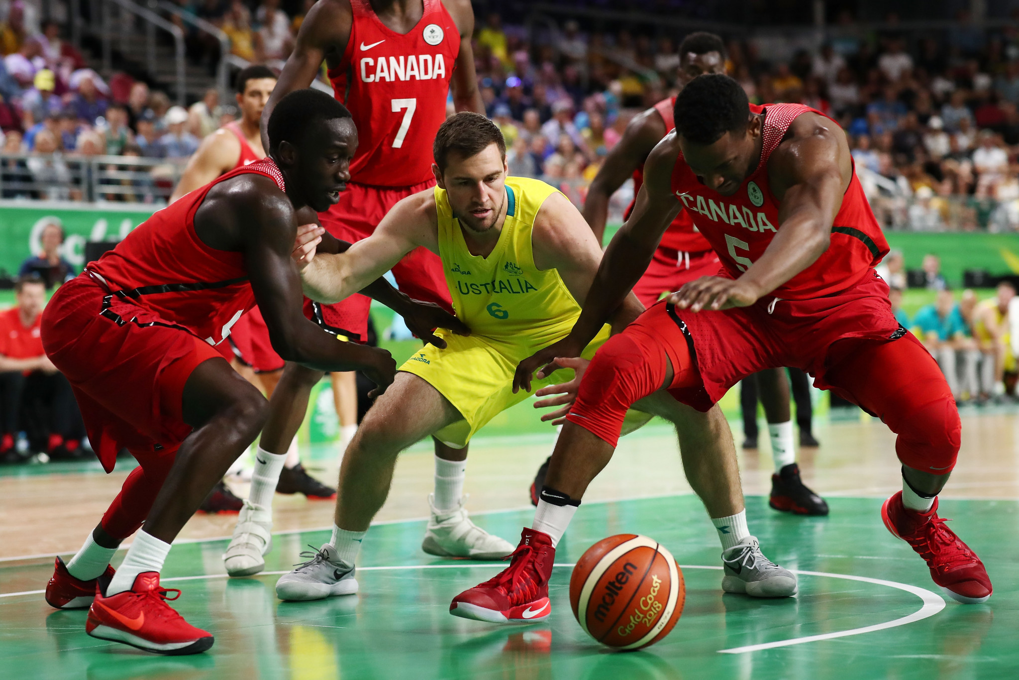 Canada will battle it out with China, Greece, Uruguay, Czech Republic and Turkey for a place at Tokyo 2020 ©Getty Images