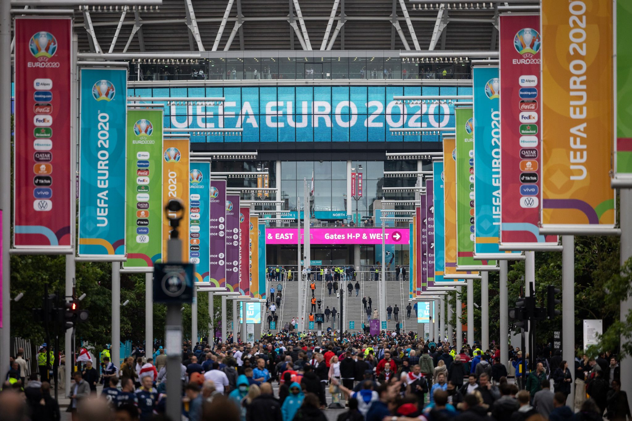 UEFA confident Euro 2020 matches will remain at Wembley but admit contingency plan