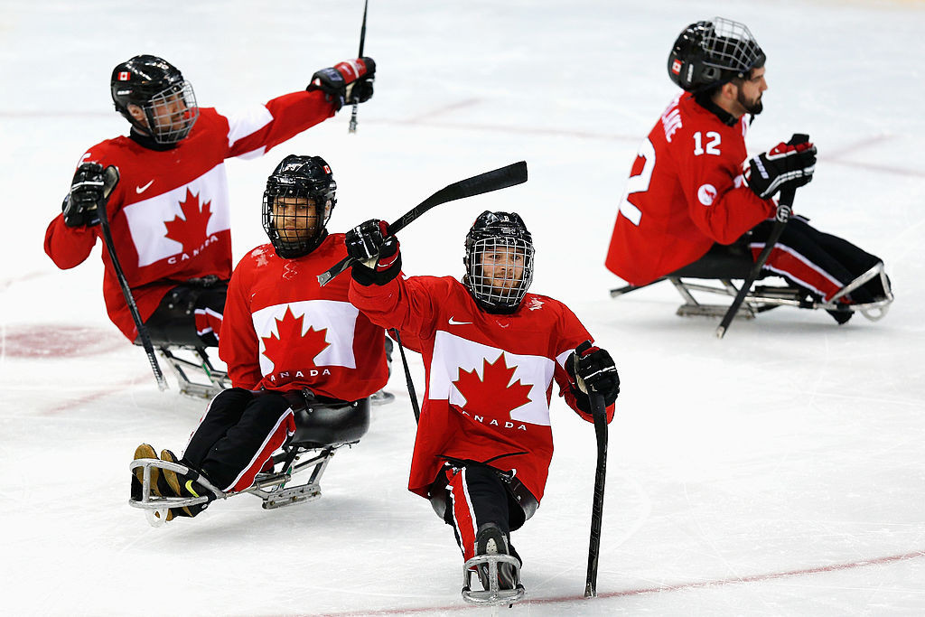 Canada beat defending champions United States on day one of World Para Ice Hockey Championship