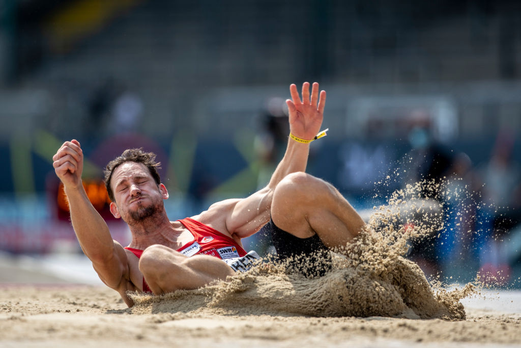 Germany's Kai Kazmirek has the Olympic qualification mark for the decathlon but is taking no chances over his selection for Tokyo 2020 as he competes in Ratingen this weekend ©Getty Images
