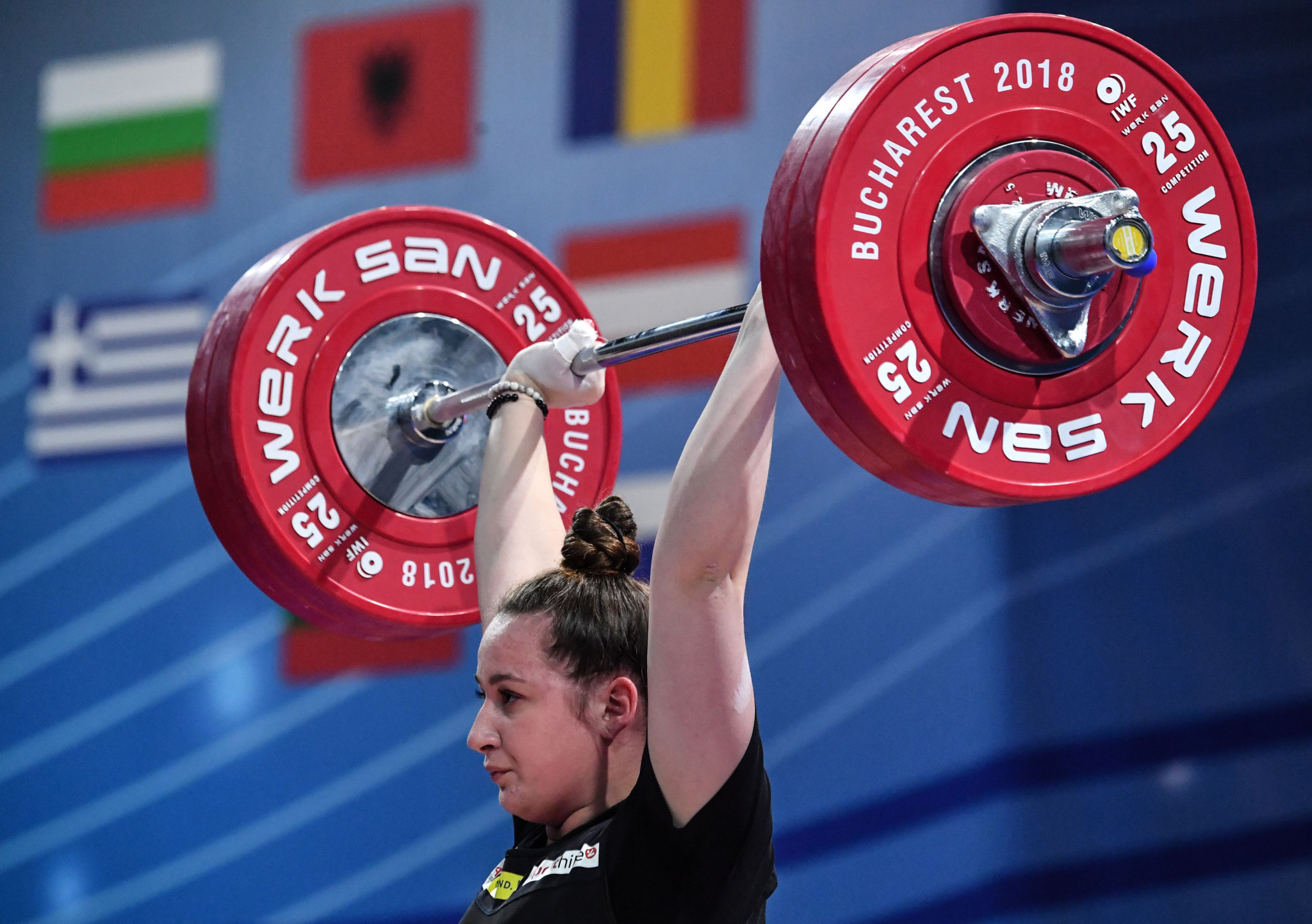 Austria's  Sarah Fischer is among five weightlifters to receive a surprise call-up for Tokyo 2020 after several places became unexpectedly available ©Getty Images