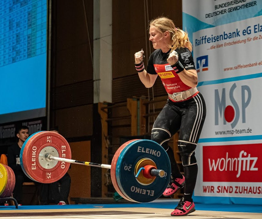 Germany's Lisa Schweizer will get an unexpected opportunity to compete at Tokyo 2020 ©YouTube