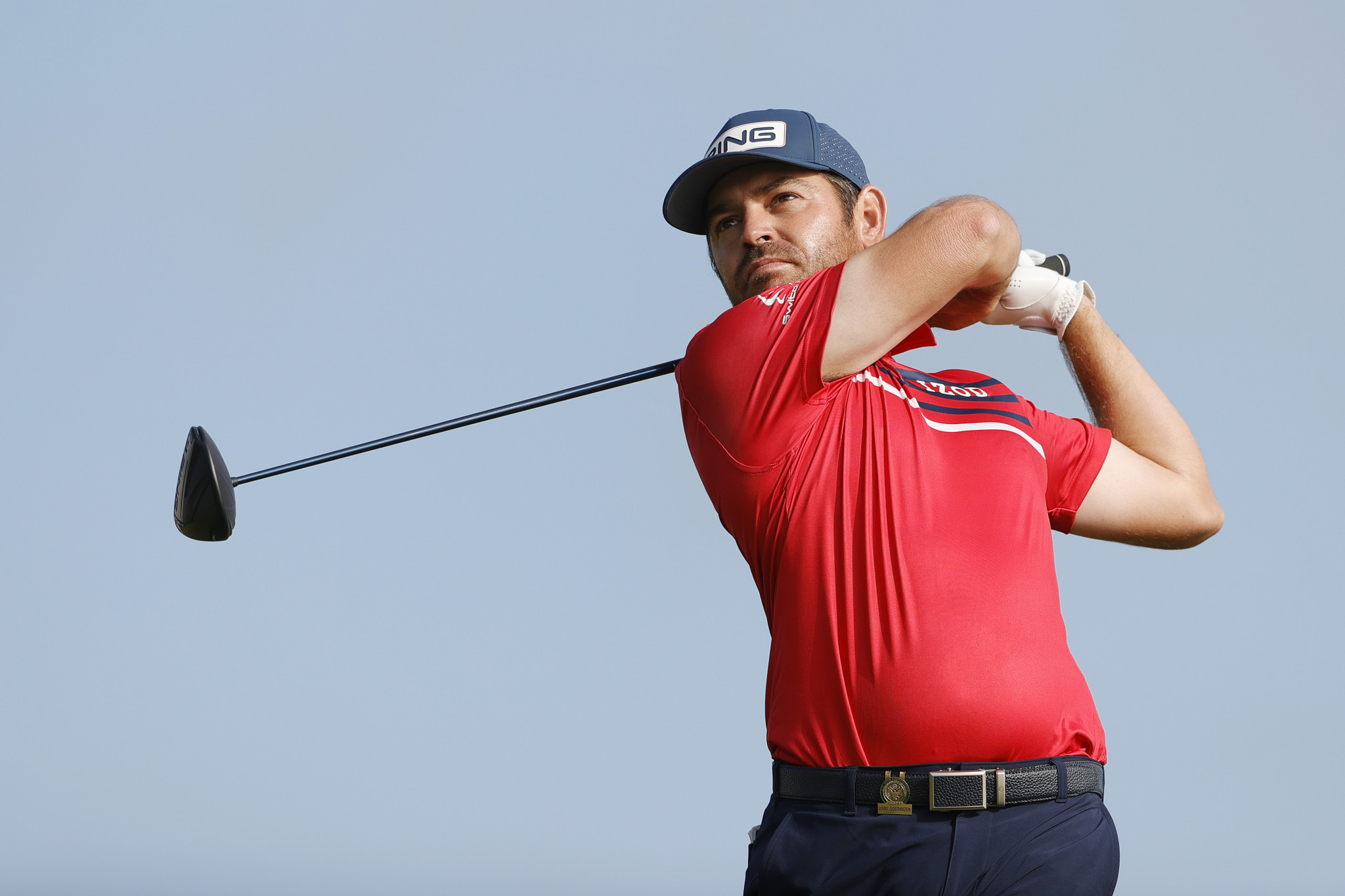 South Africa's Louis Oosthuizen shares the lead heading into the final round of the US Open in San Diego ©Getty Images