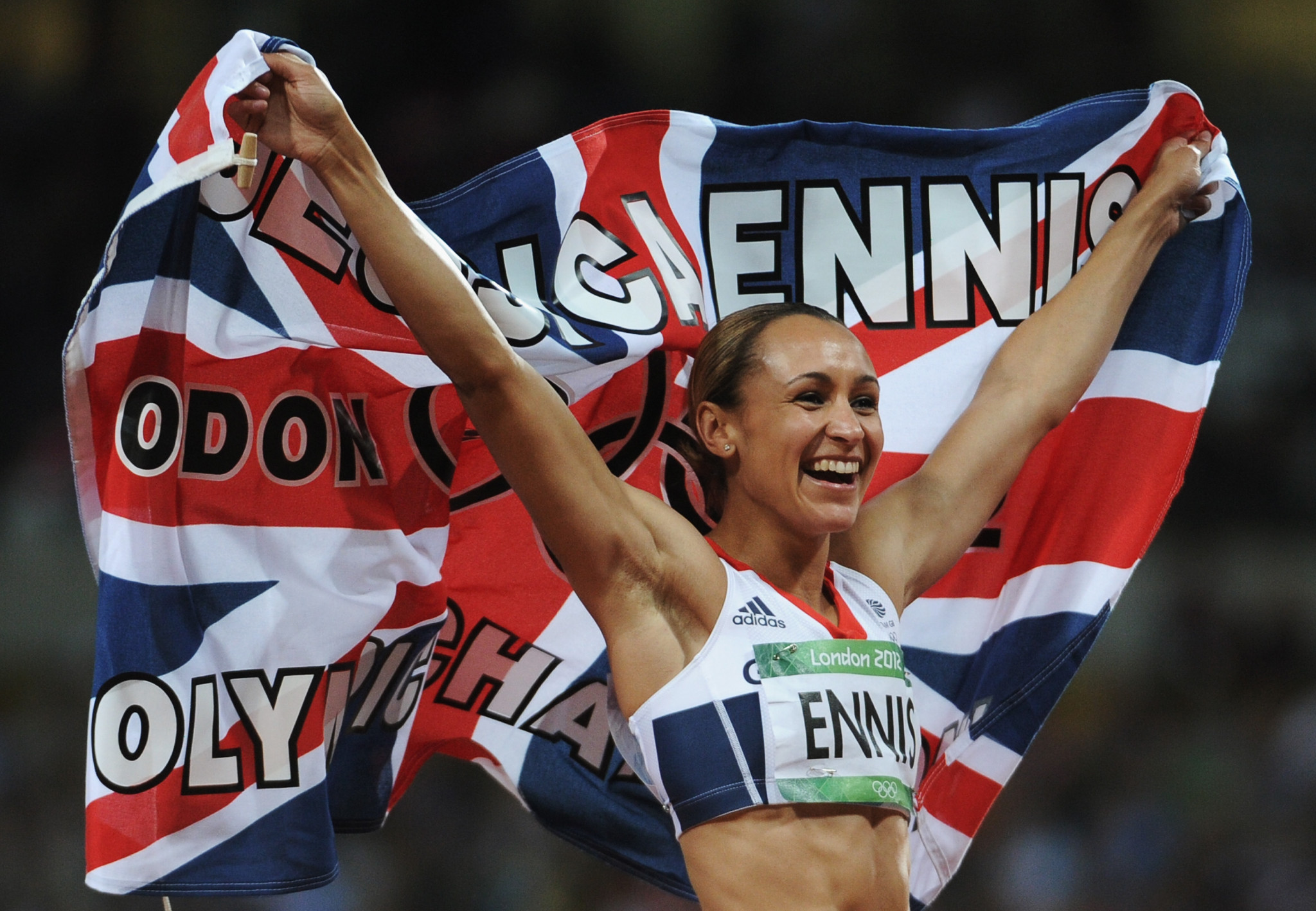 Jessica Ennis-Hill won one of three Team GB gold medals during 44 minutes on