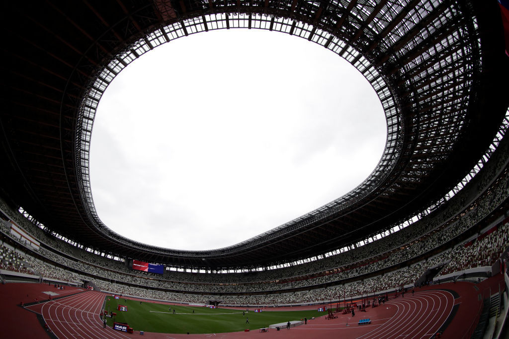 Around 20,000 spectators could attend the Tokyo 2020 Olympic Games Opening Ceremony on July 23 ©Getty Images
