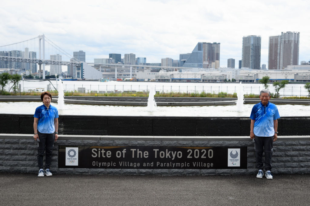 The Tokyo 2020 Athletes' Village was unveiled to media today ©Getty Images