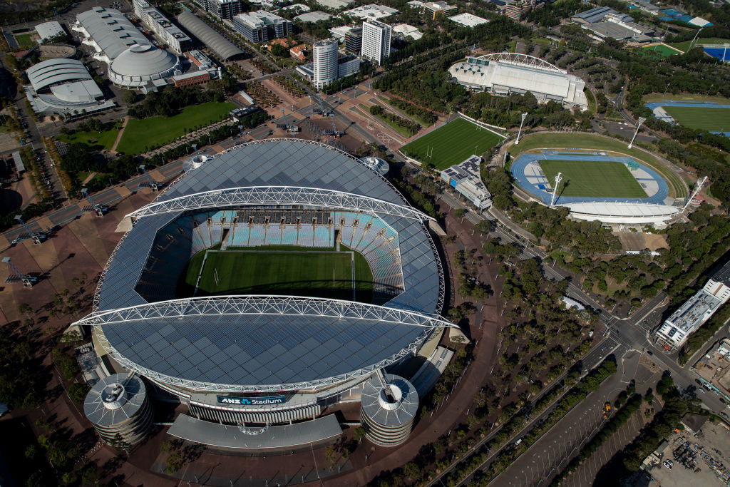 A FIFA delegation visit will take in all stadia due to host the Women's World Cup 2023 finals in New Zealand and Australia, including Stadium Australia, which is due to host the final on August 20 ©Getty Images
