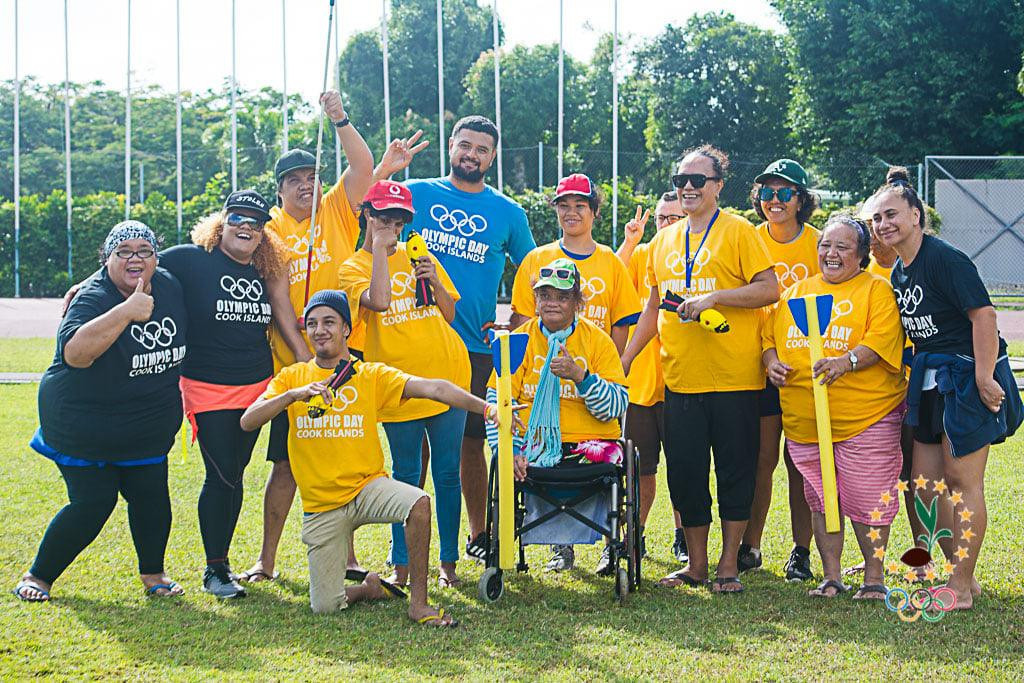 The Cook Islands Sports and National Olympic Committee has marked Olympic Day with a special event for people with disabilities ©CISNOC