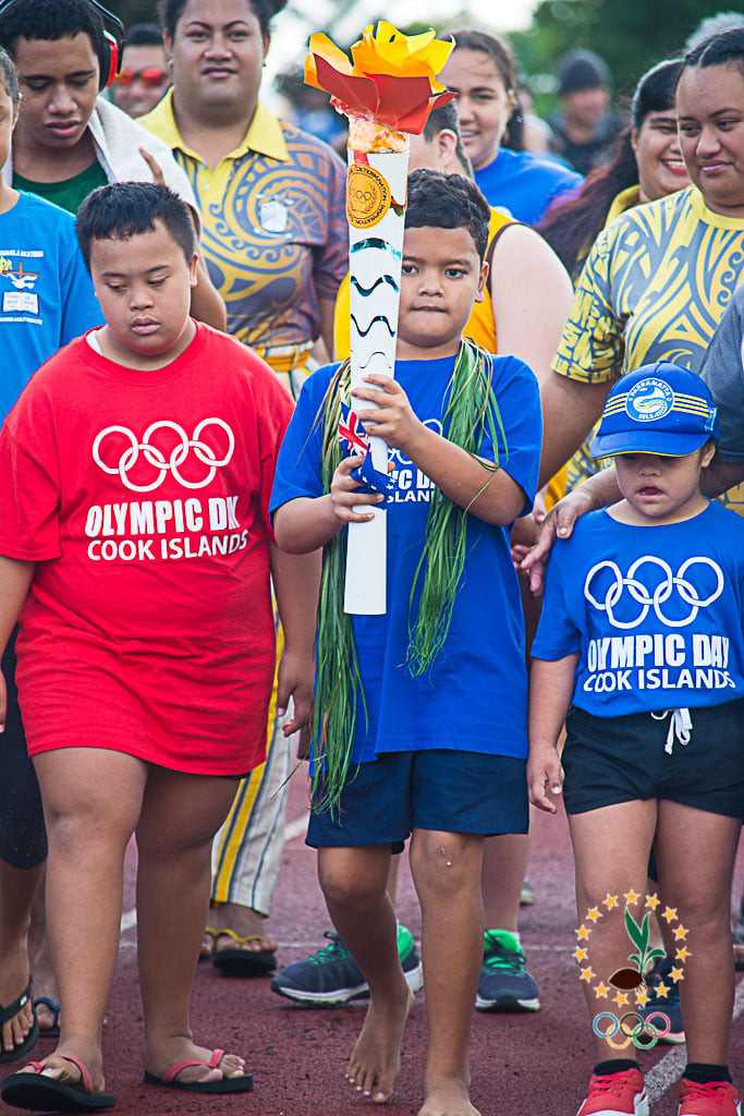 """The """"Ability"""" Olympics was held at the National Stadium for people of all ages in in the country's capital Avarua ©CISNOC"""