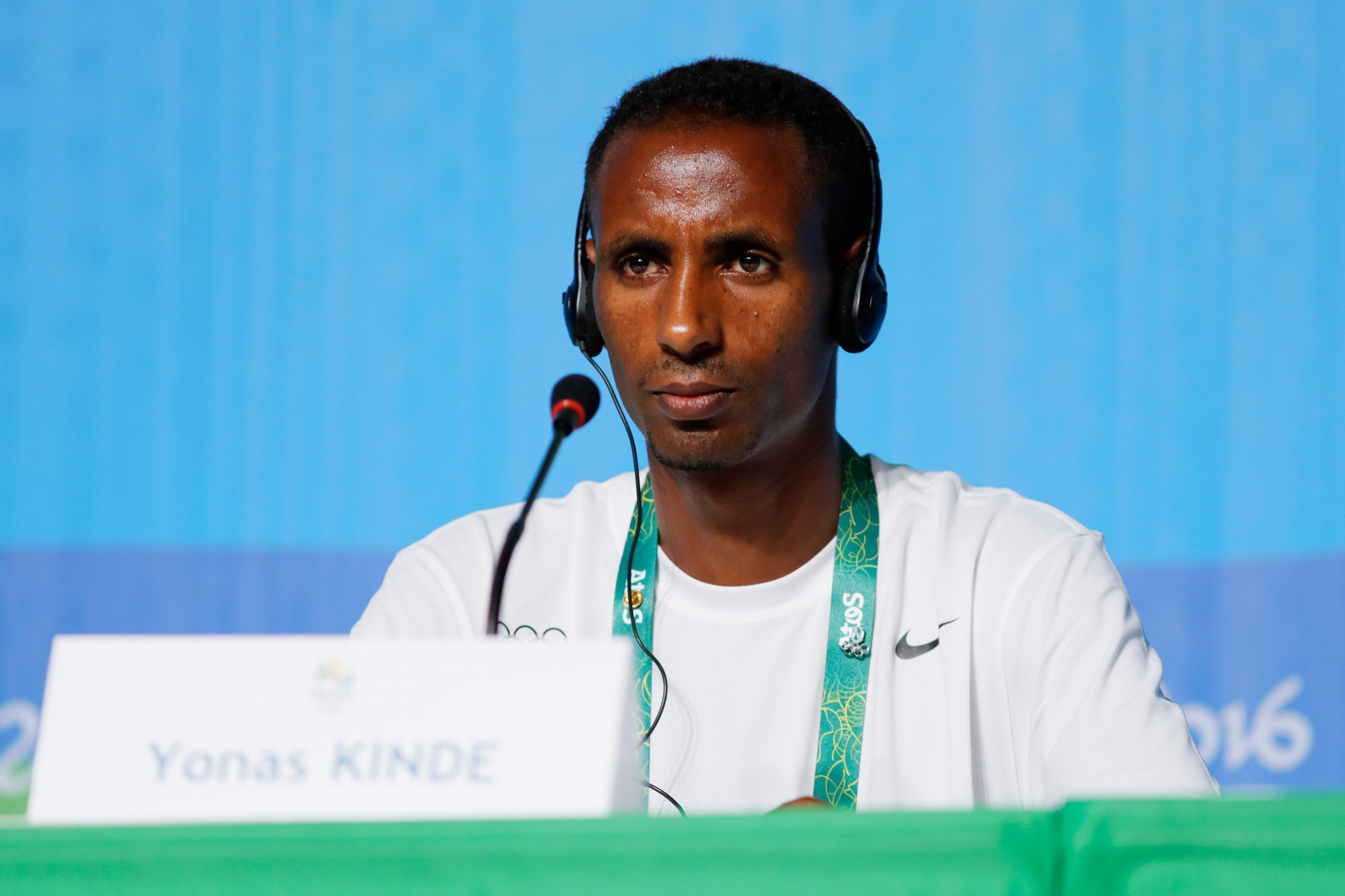 Yonas Kinde has described the Olympic Refugee Team as a