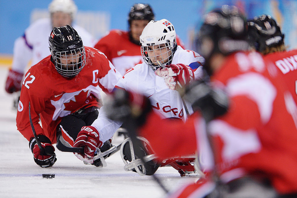 Canada earned a second win at the World Para Ice Hockey Championship in Ostrava ©Getty Images