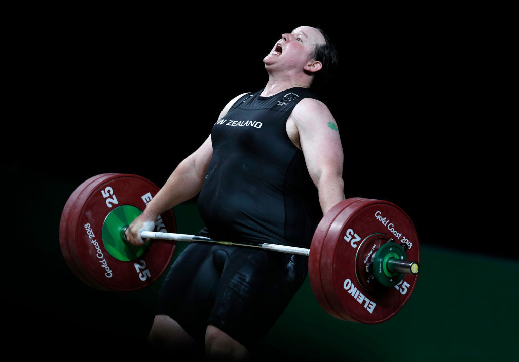 """Tokyo-bound transgender weightlifter Hubbard """"humbled by support"""" from public"""