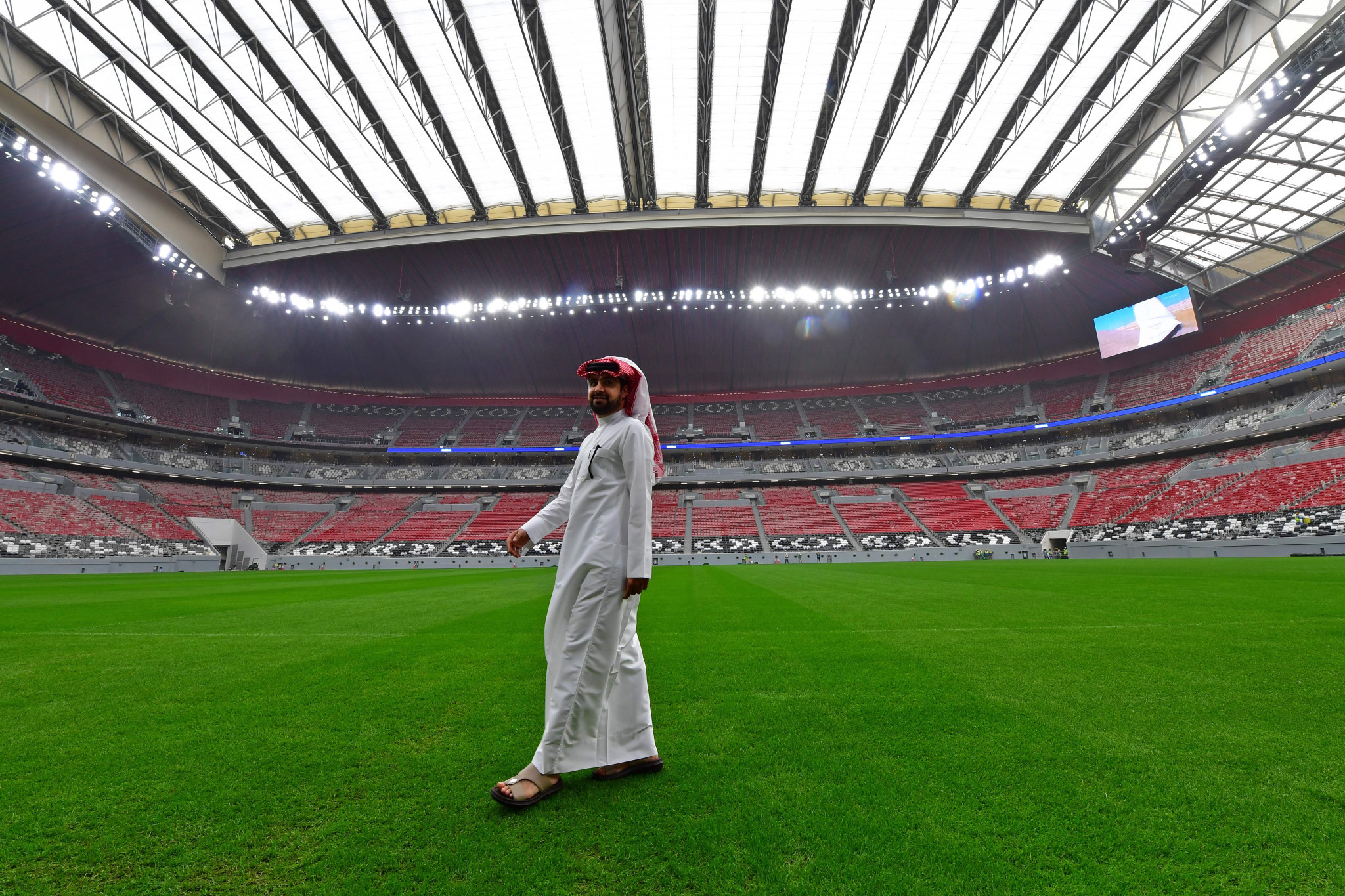 Qatar is set to secure one million doses to vaccinate fans at next year's tournament ©Getty Images