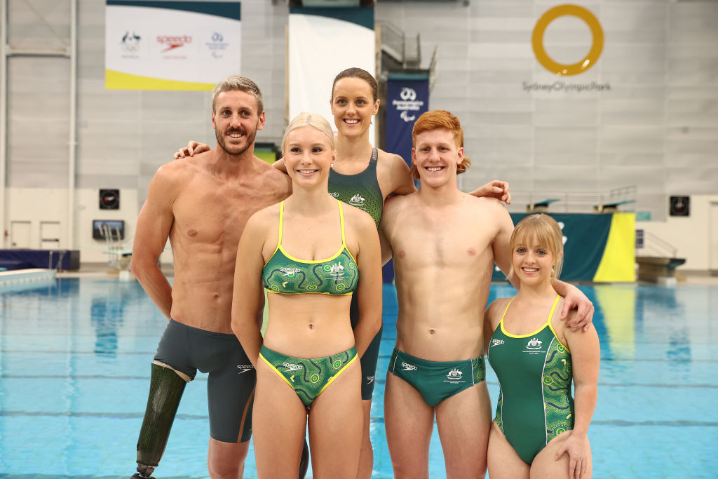 Australia's 32-strong Paralympic swim team contains multiple medallists and 15 debutants