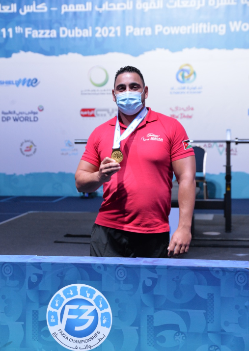 Jordan's Khattab beats world record twice at Dubai 2021 Para Powerlifting World Cup