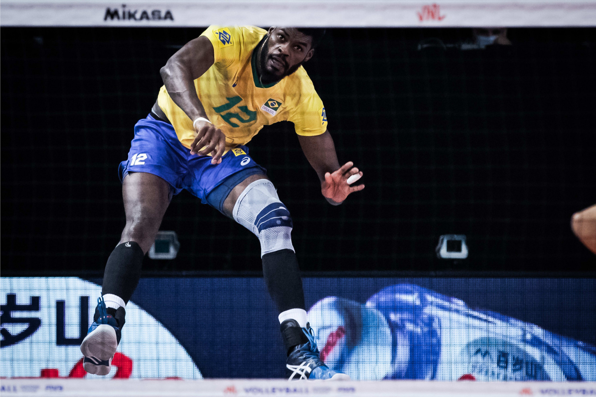 Brazil lead standings with two days remaining of men's Volleyball Nations League preliminary round