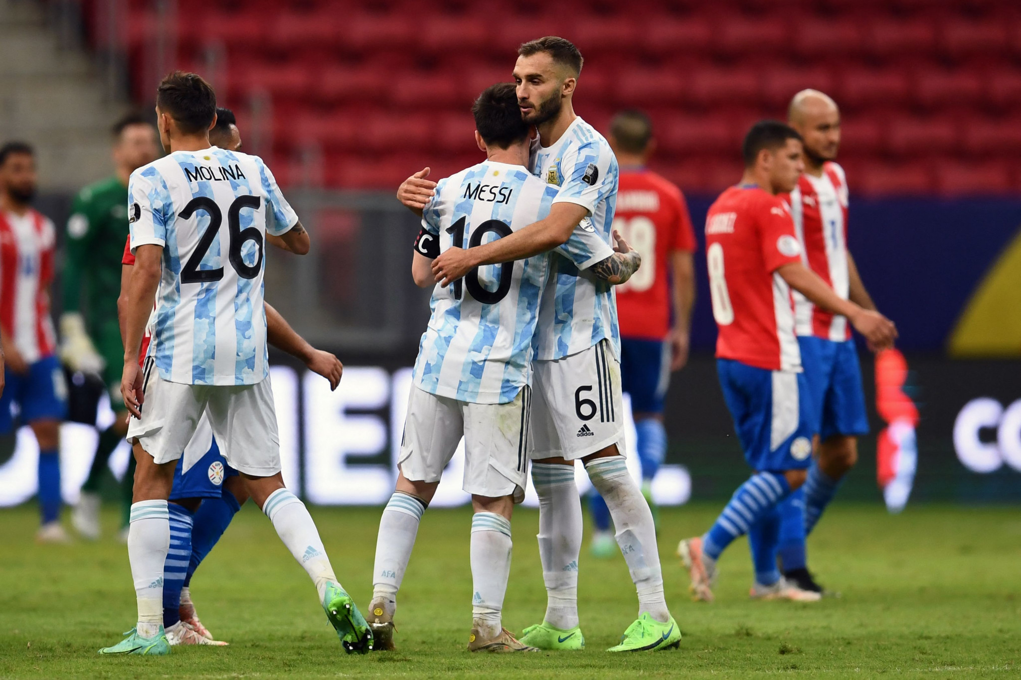 More than 100 COVID-19 cases reported at Copa América as Argentina top Group A