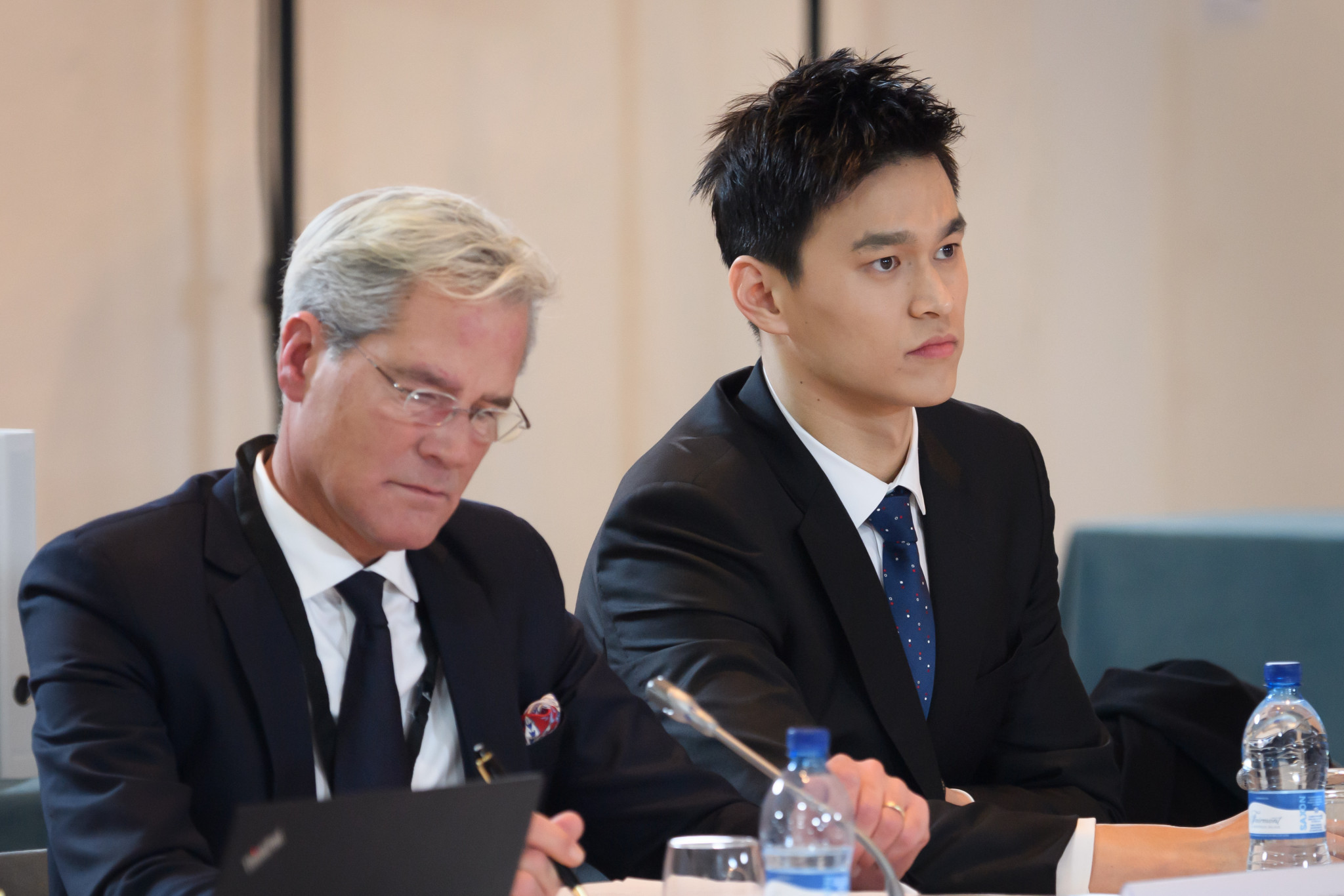 A rehearing of the case against Sun Yang took place after the President of the previous panel was removed following a series of discriminatory tweets ©Getty Images