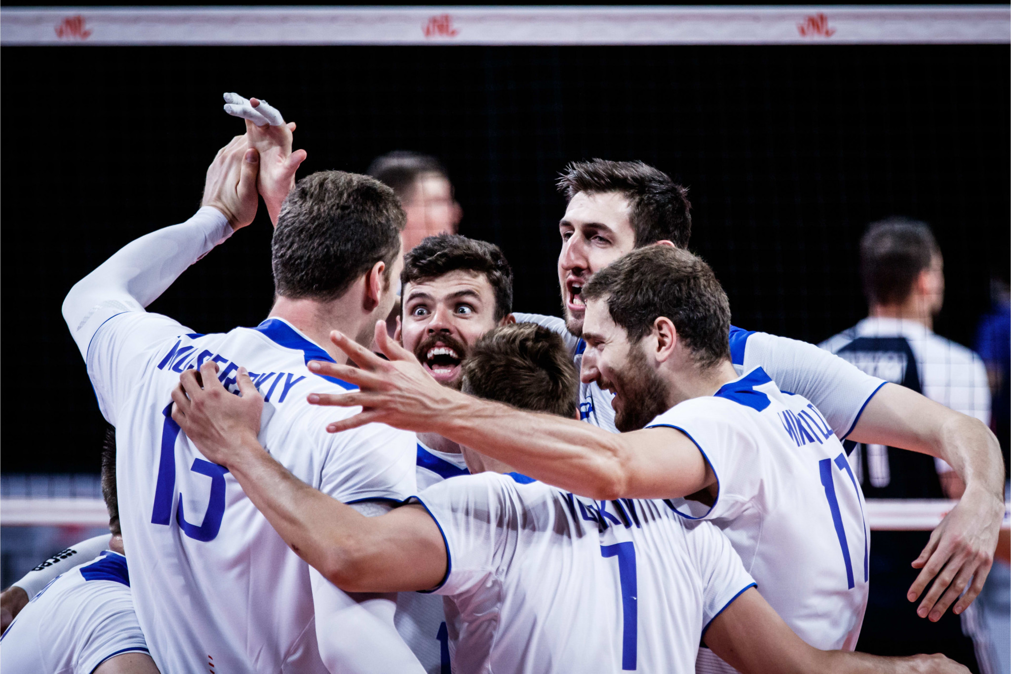 Six countries in the mix for semi-final spots with one day to go of men's Volleyball Nations League preliminary round