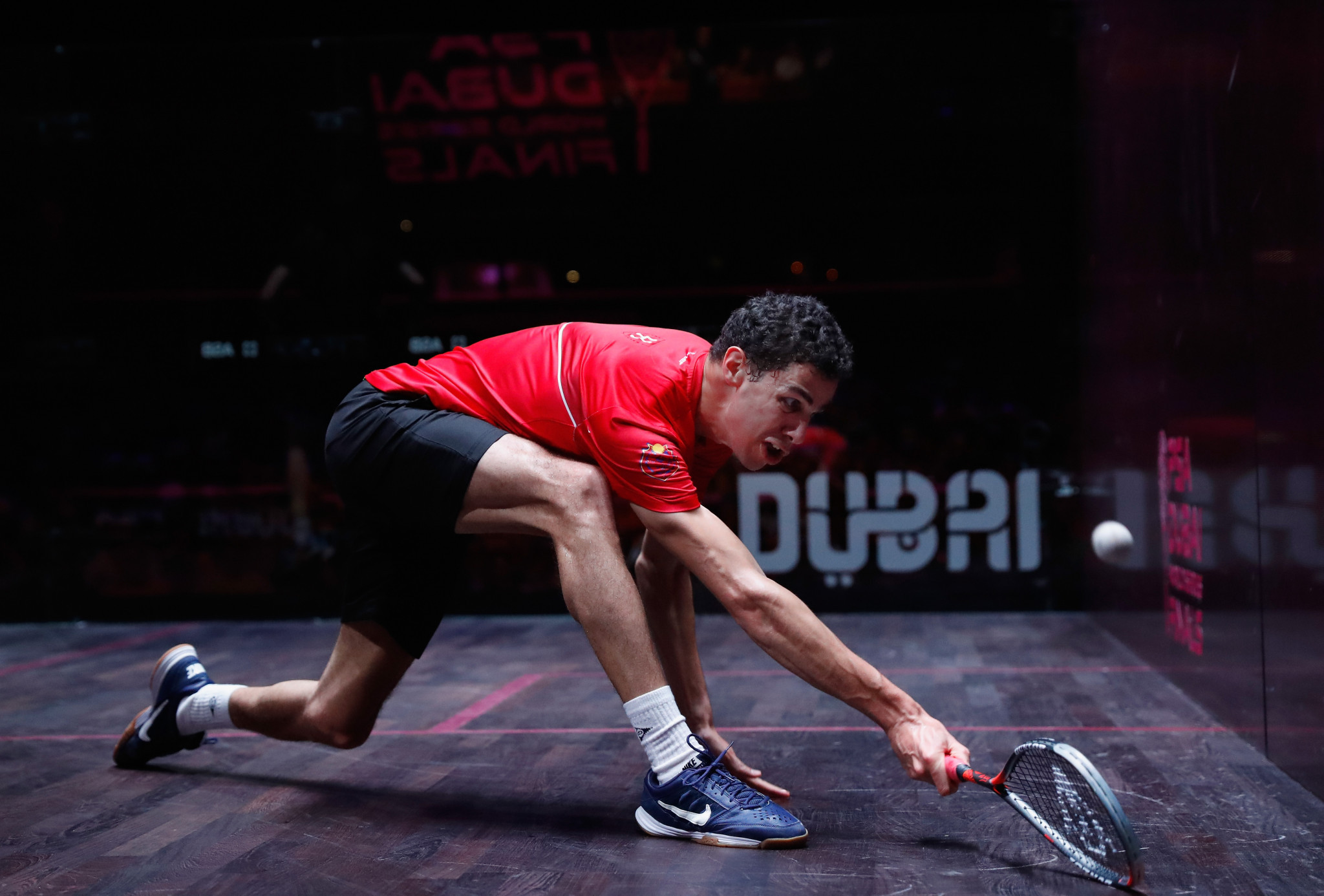Top seeds beaten on opening day of PSA World Tour Finals in Cairo