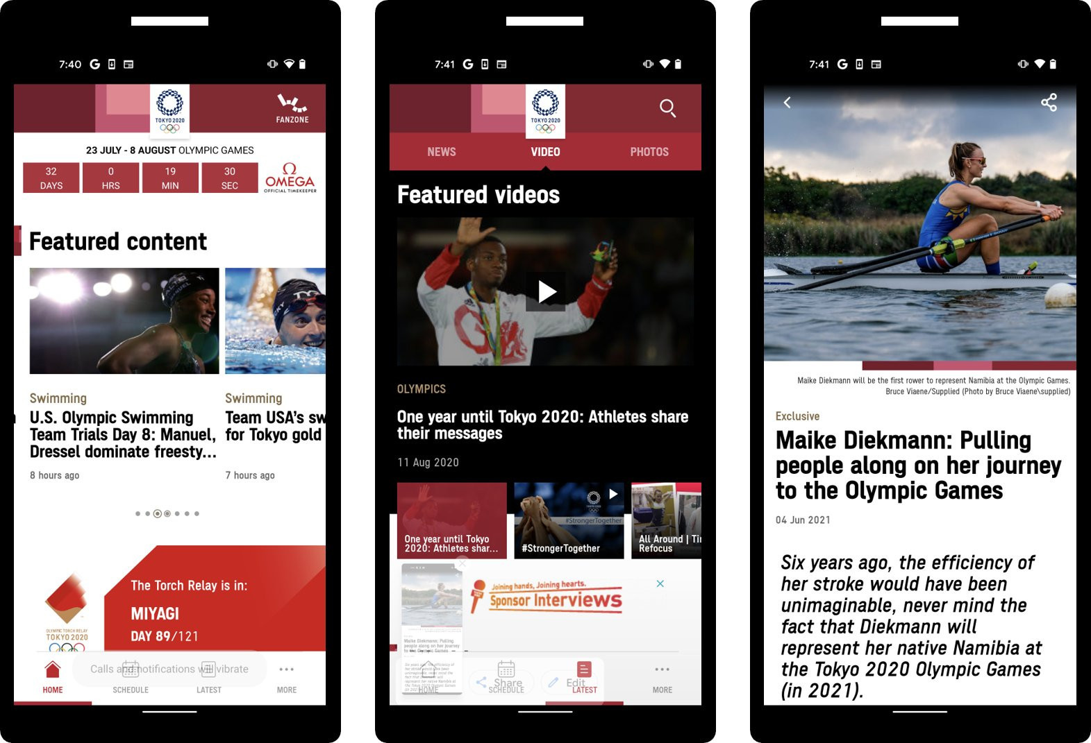 Tokyo 2020 has launched its official app for the Olympics and Paralympics ©Tokyo 2020