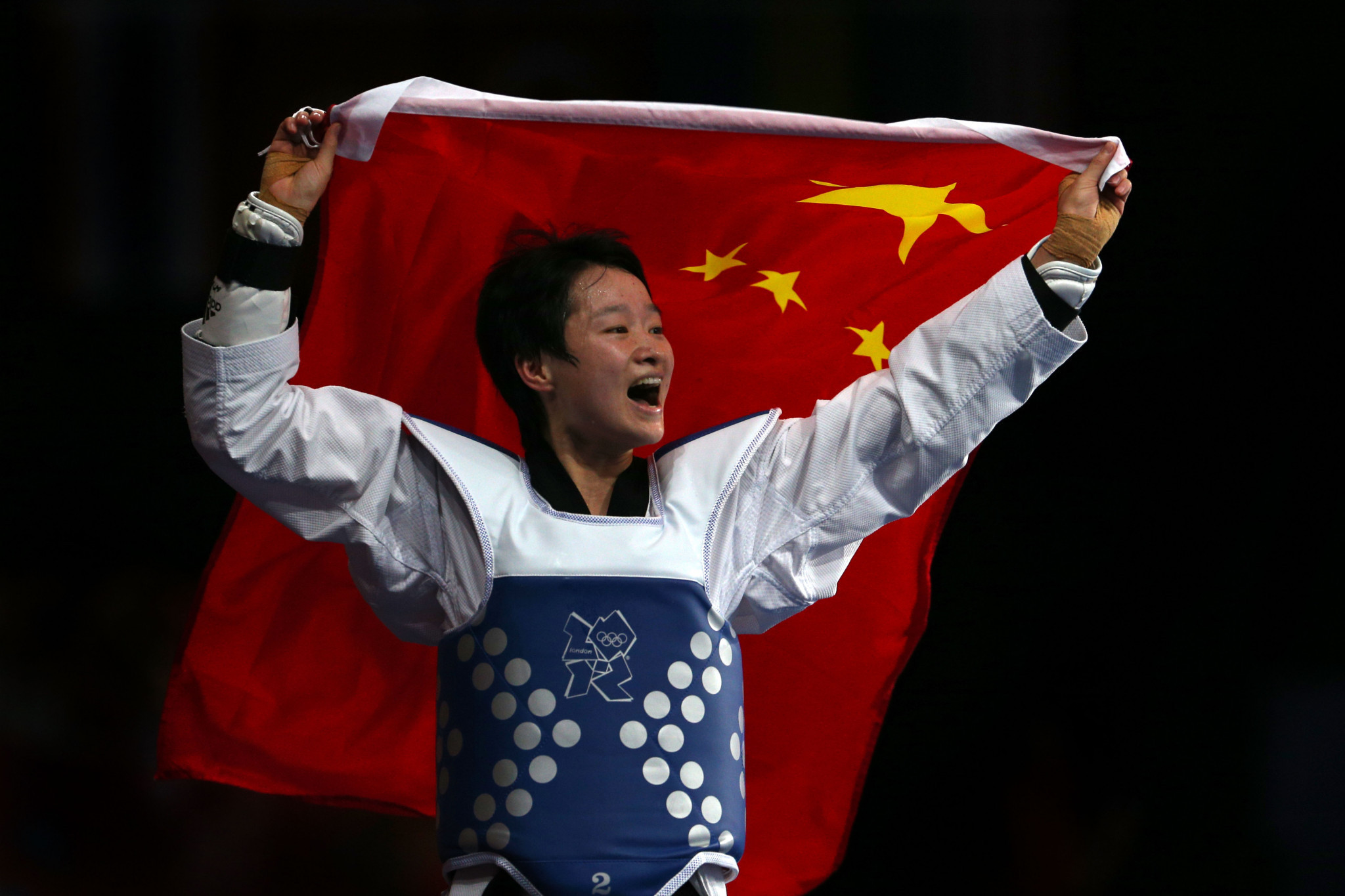 No athlete has ever won three Olympic gold medals in taekwondo ©Getty Images