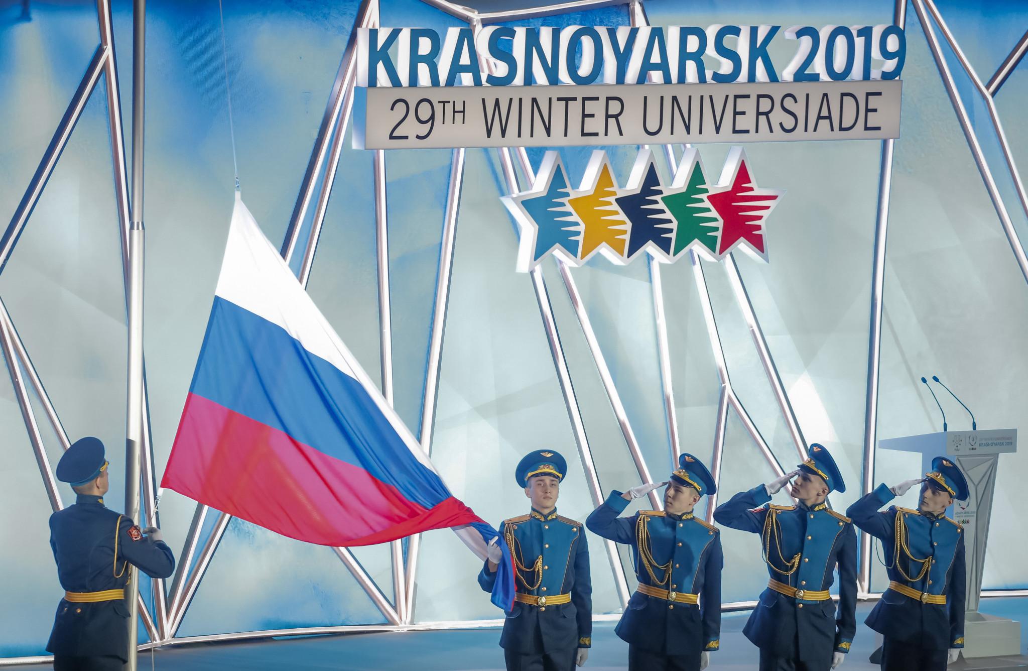 The last Winter Universiade was held in Krasnoyarsk in Russia in 2019 ©Getty Images