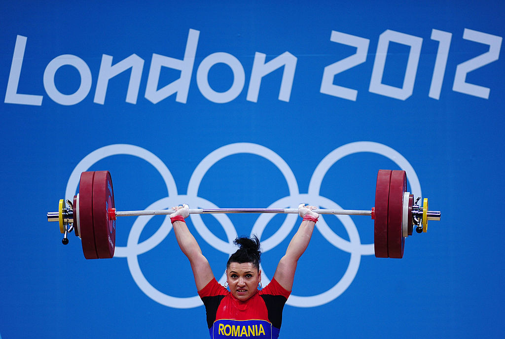 Romania's Roxana Cocos was allowed to compete at London 2012 despite testing positive and won a silver medal ©Getty Images