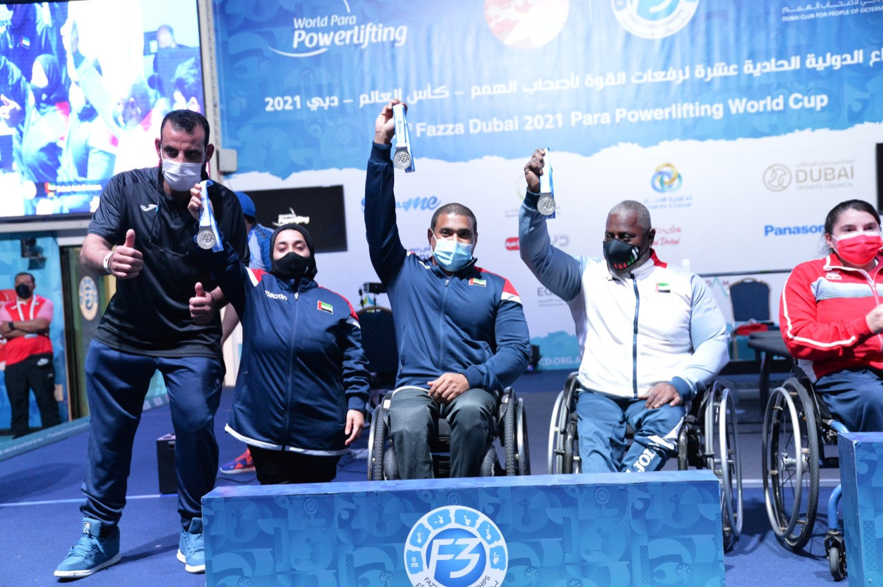 Hosts take mixed team silver on final day of World Para Powerlifting Cup in Dubai