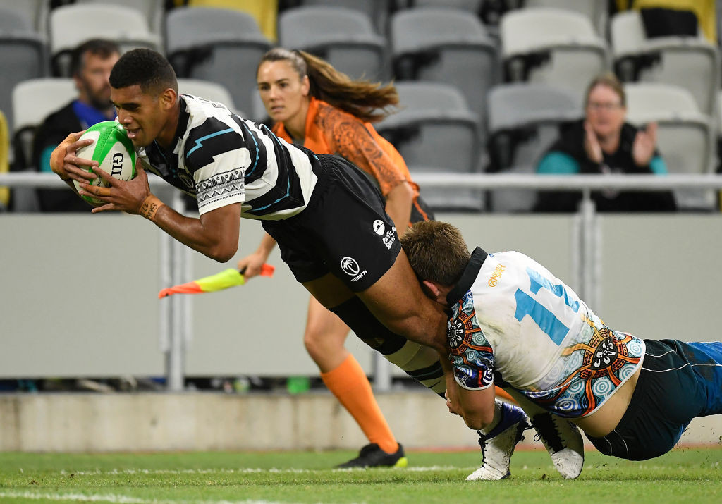 Fiji and New Zealand make winning starts to men's event at Oceania Sevens Championships