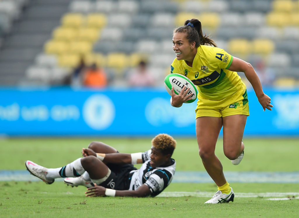 Olympic women's champions Australia have a 100 per cent record after the opening day of the tournament in Townsville ©Getty Images