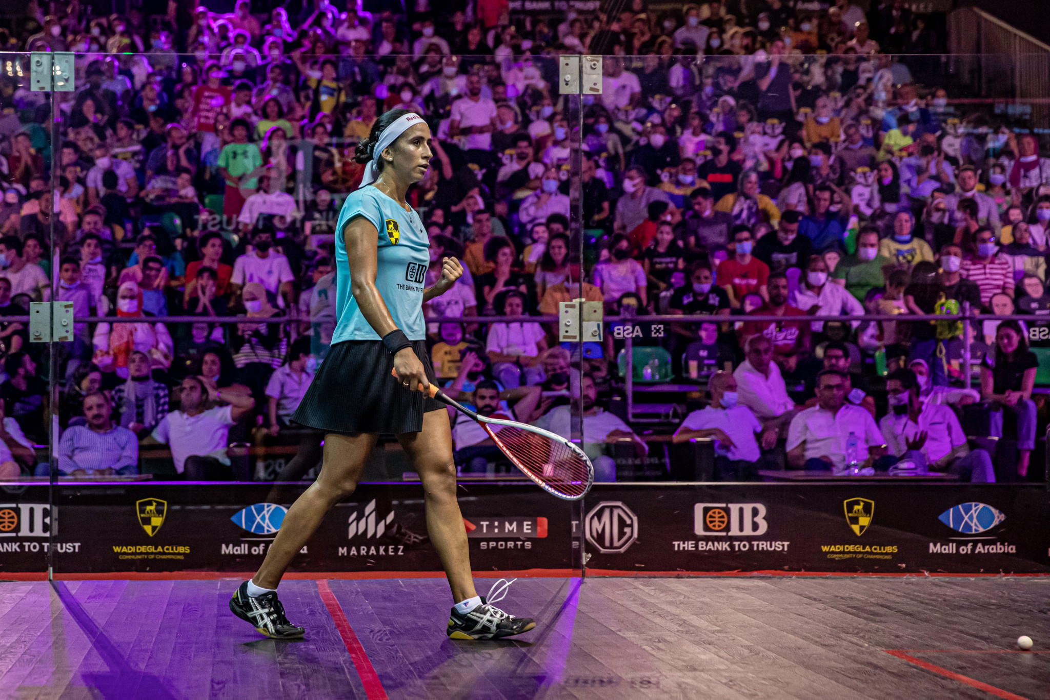 World number one El Sherbini knocked out of PSA World Tour Finals