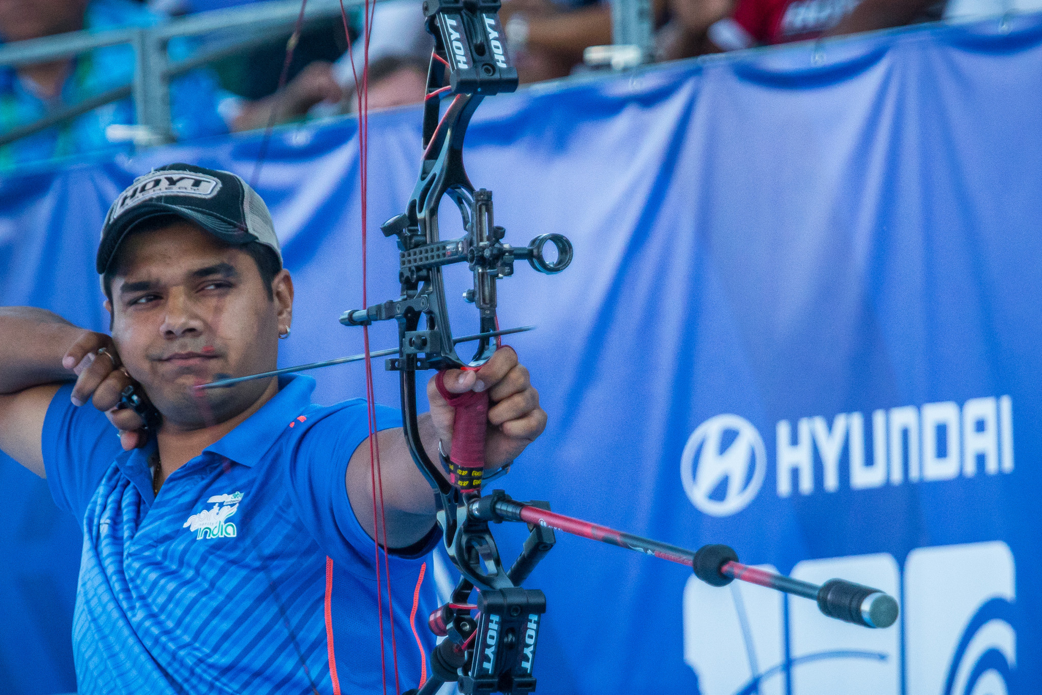 Verma and Lopez win compound gold medals at Paris Archery World Cup