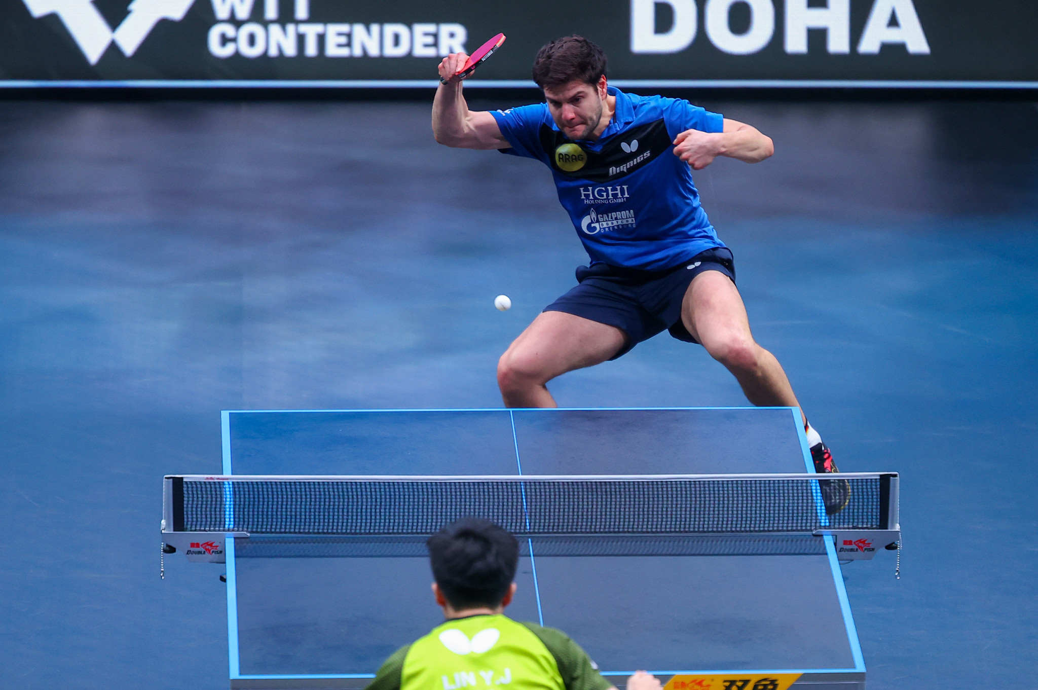 Doha hosted a World Table Tennis hub earlier this year ©Getty Images