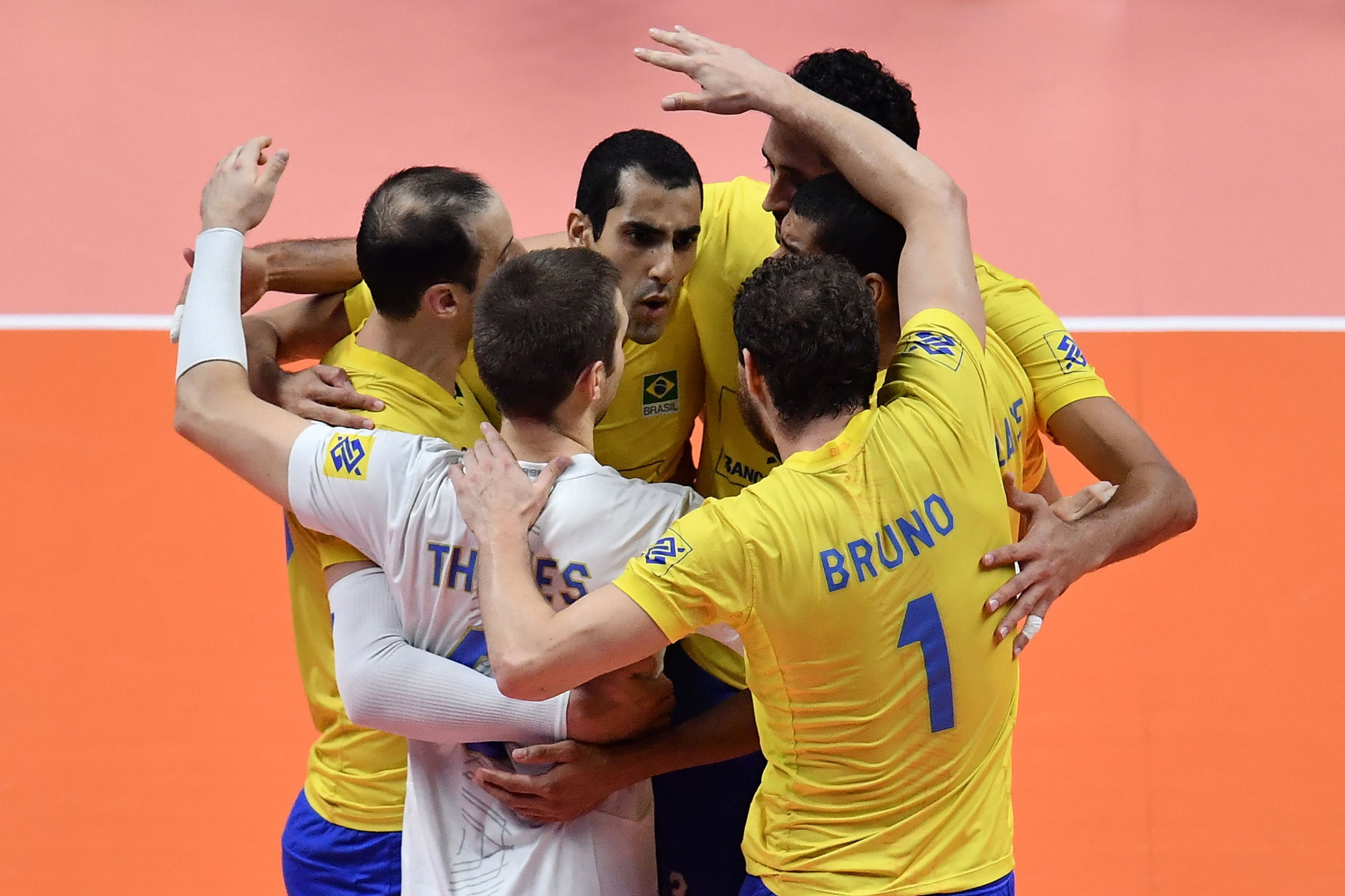 Brazil and Poland through to Volleyball Men's Nations League final