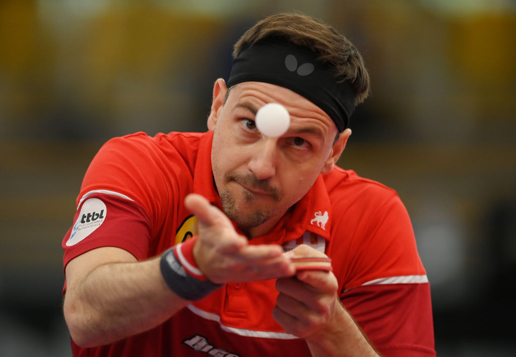 Germany's defending champion Timo Boll is into the last four of the men's singles at the European Table Tennis Championships in Warsaw ©Getty Images