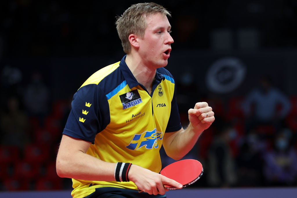 Sweden's top seed Mattias Falck will meet defending champion Timo Boll of Germany in tomorrow's men's singles semi-finals at the European Table Tennis Championships in Warsaw ©Getty Images
