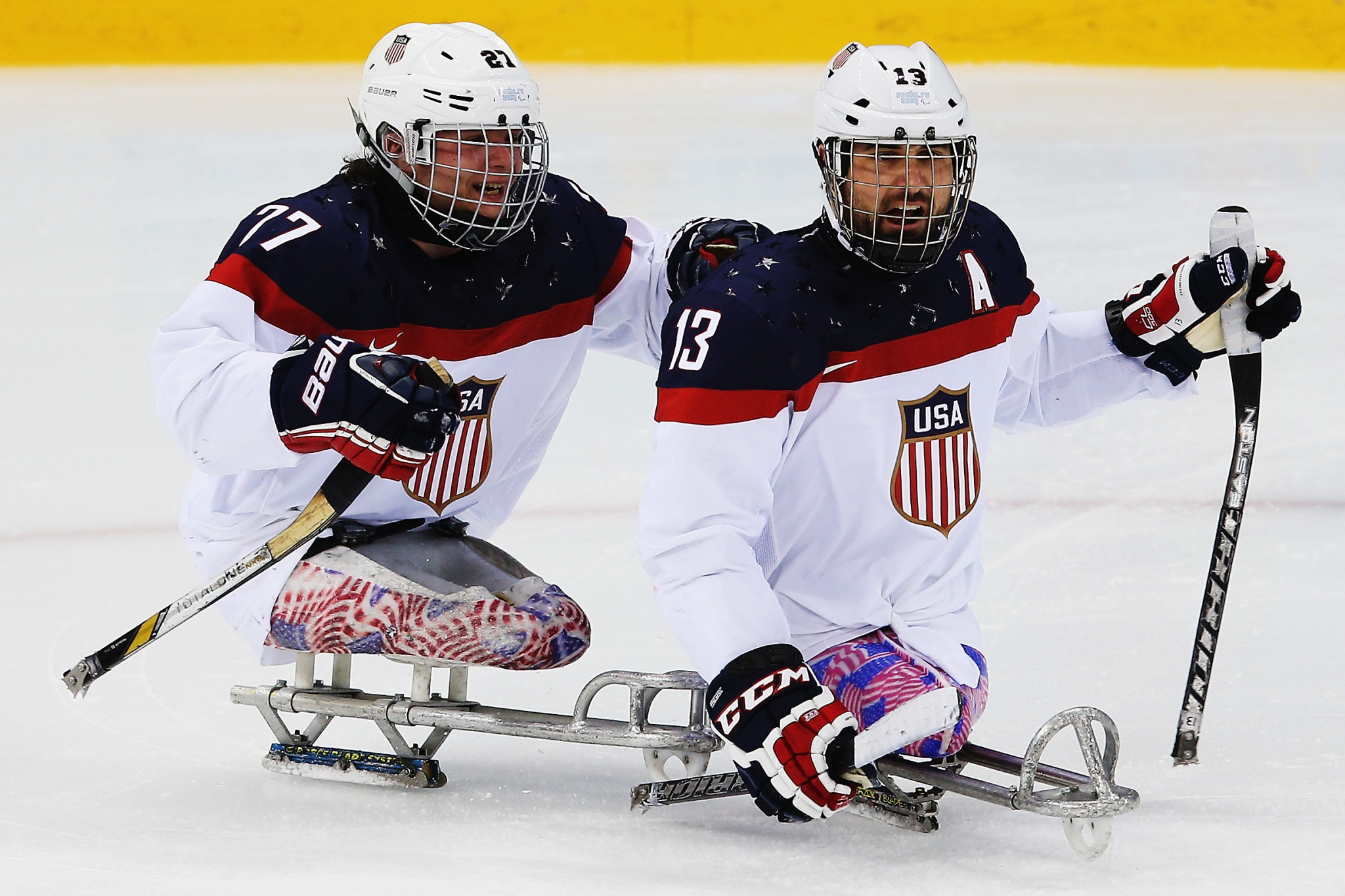 United States retain World Para Ice Hockey Championships title after comfortable win over Canada