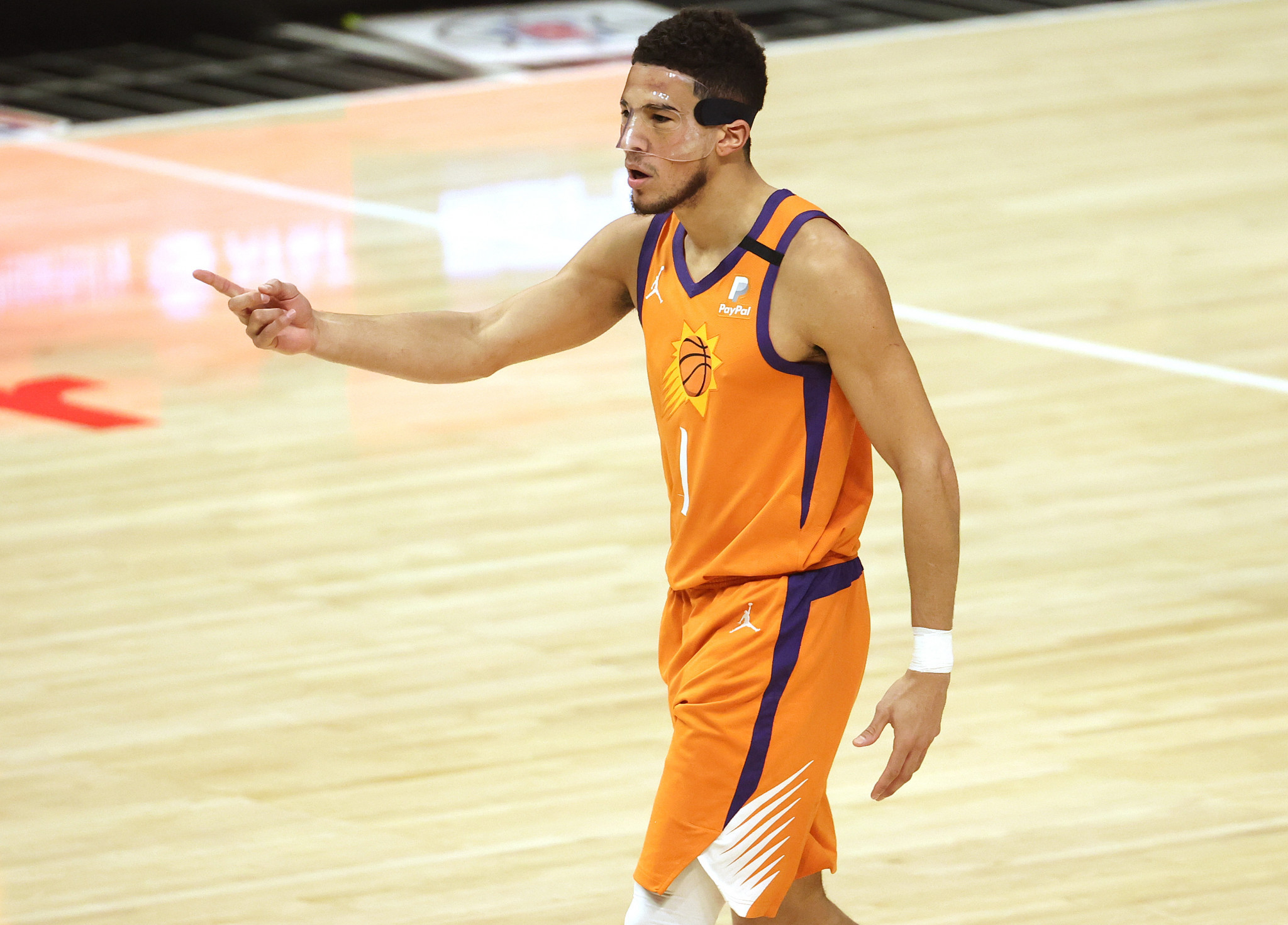 Devin Booker could join the team late if the Phoenix Suns make the NBA Finals ©Getty Images