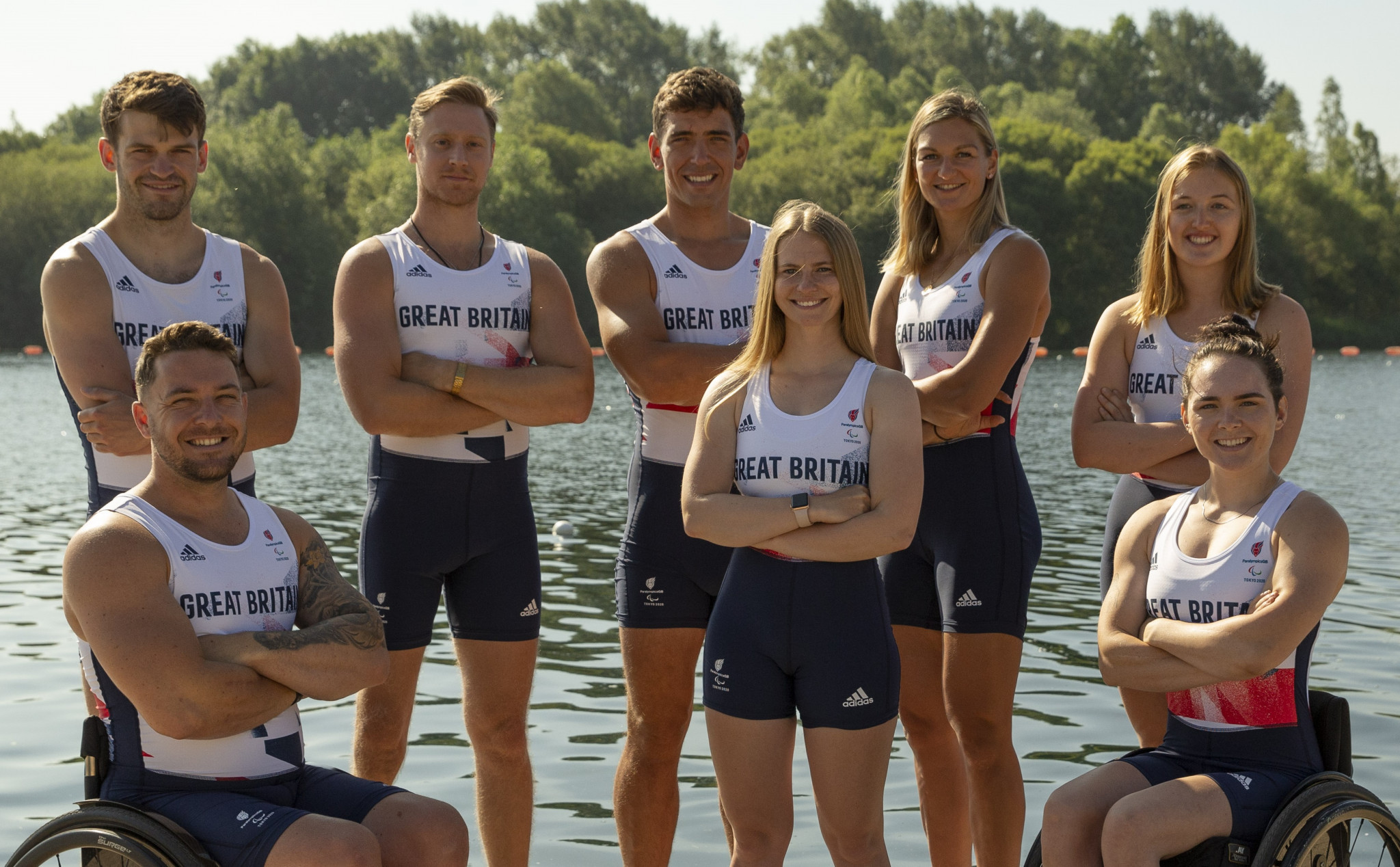 Britain select three reigning champions for Tokyo 2020 Paralympics rowing team