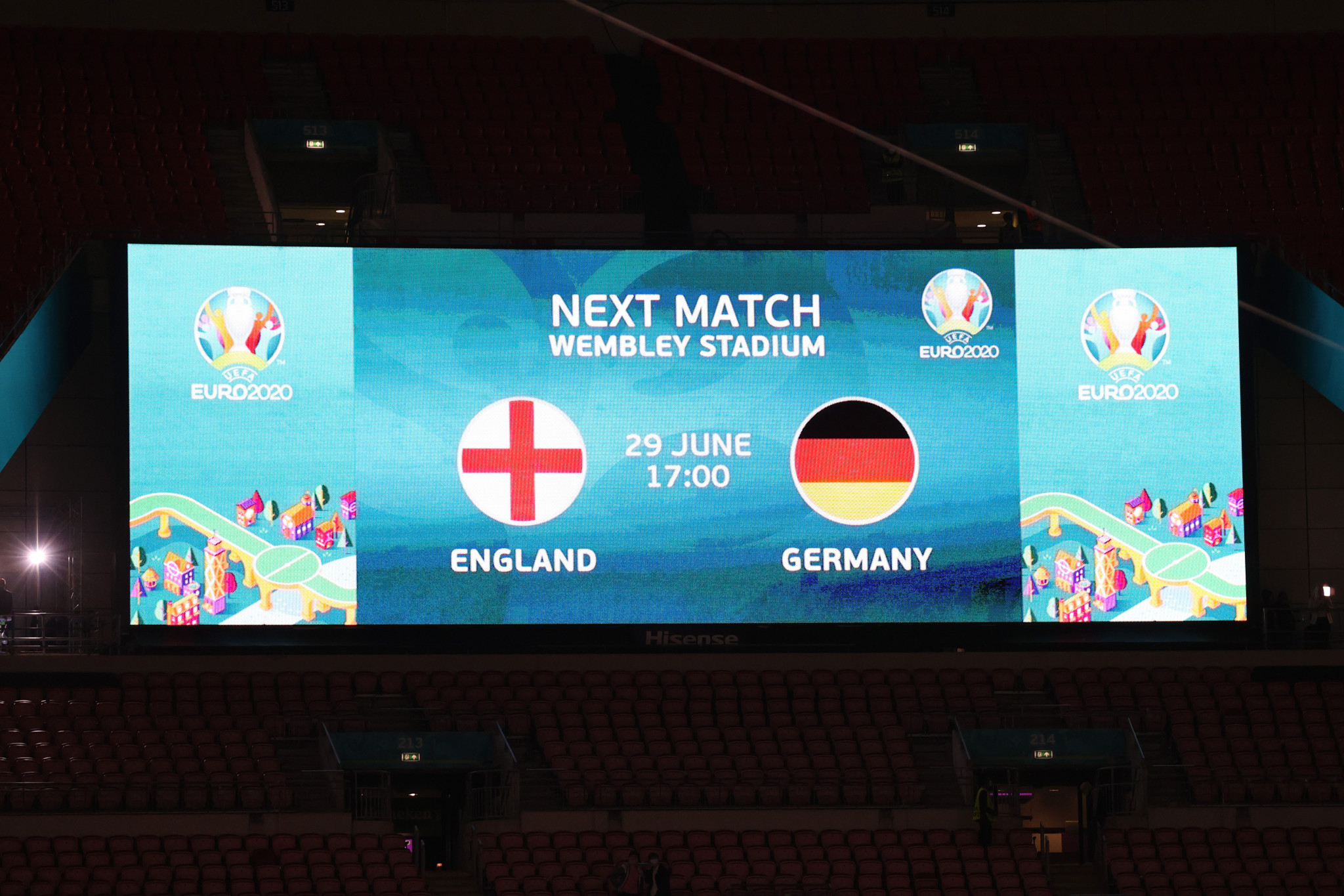 German fans have been warned not to travel to watch their national team face England ©Getty Images